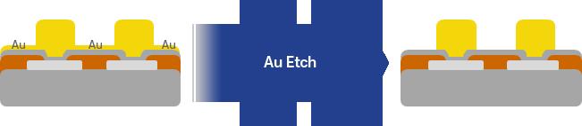Au Etchant